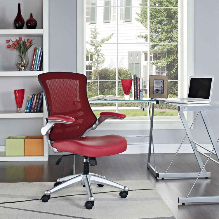 Attainment Office Chair - Red