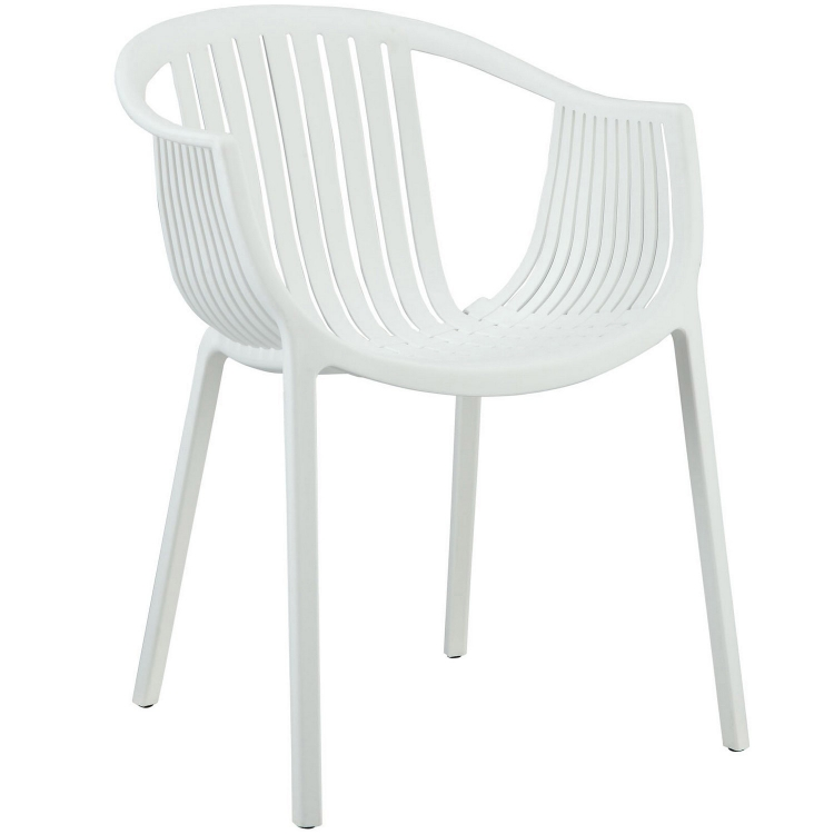 Hammock Dining Arm Chair - White