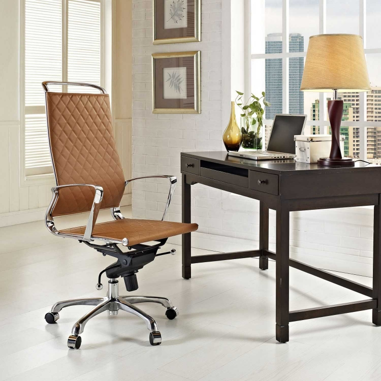 Vibe Highback Office Chair - Tan