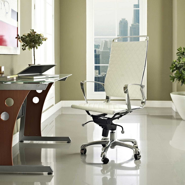 Vibe Highback Office Chair - White