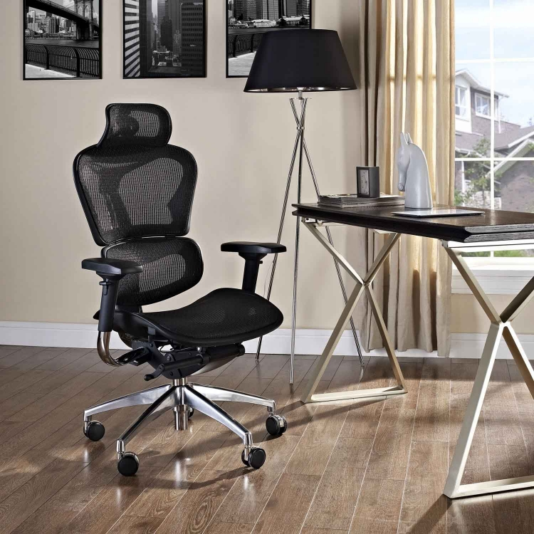 Lift Highback Office Chair - Black