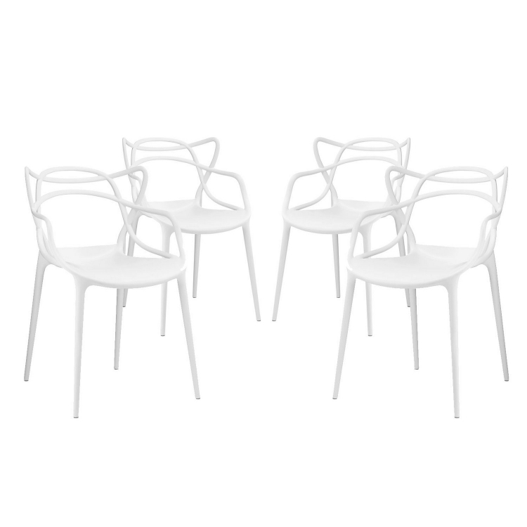 Entangled Dining Chair - Set of 4 - White