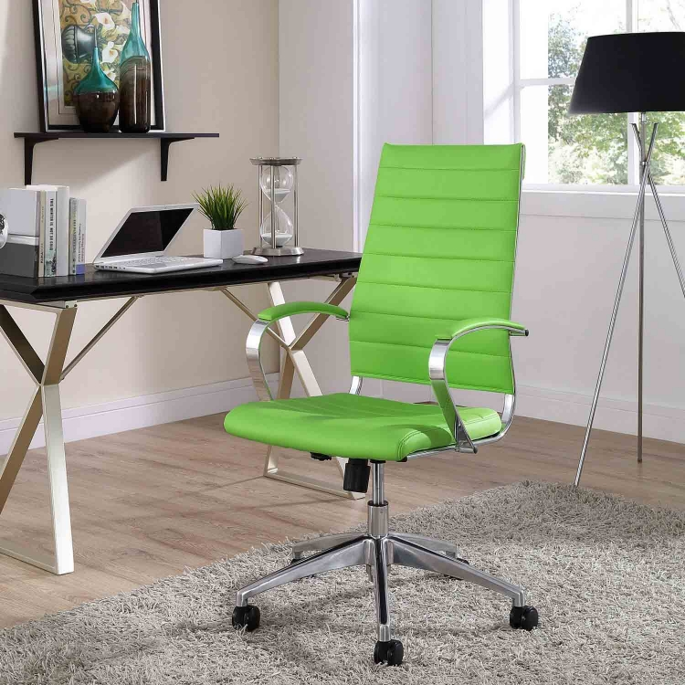Jive Highback Office Chair - Bright Green