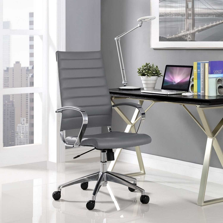 Jive Highback Office Chair - Gray