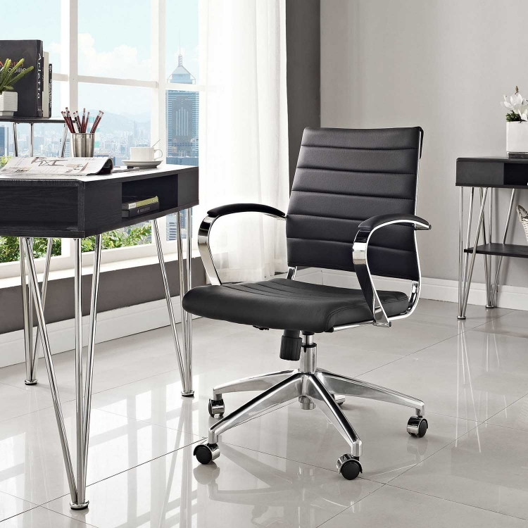Jive Mid Back Office Chair - Black