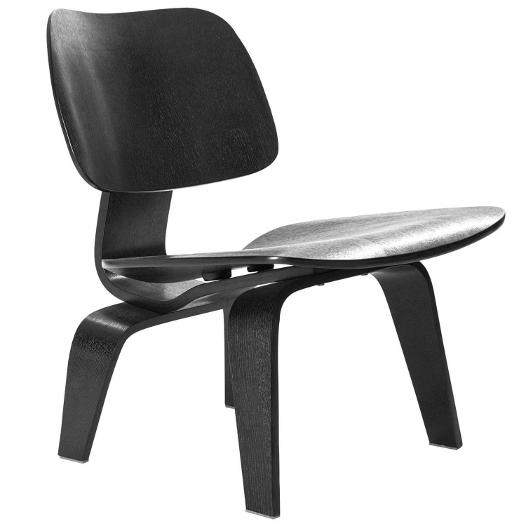 Fathom Lounge Chair - Black