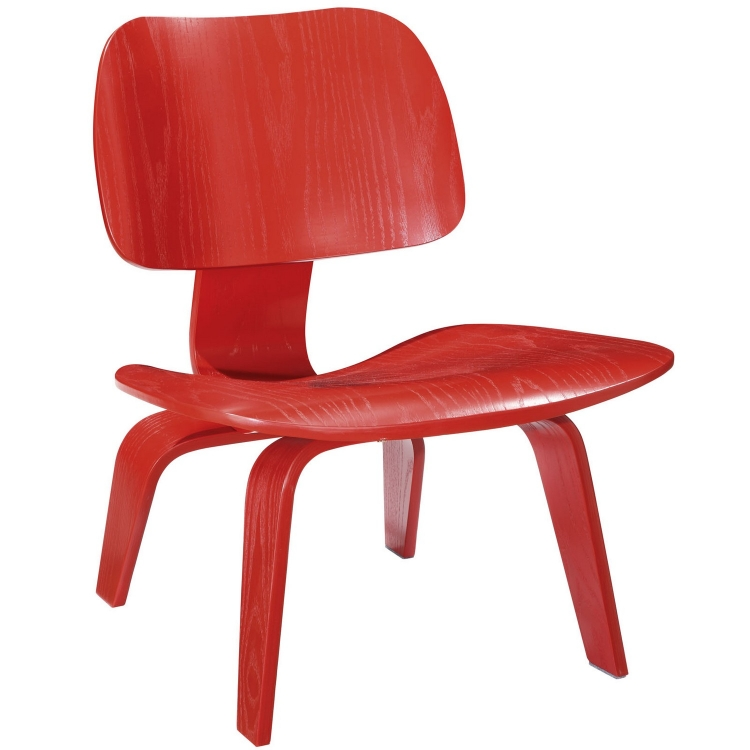 Fathom Lounge Chair - Red