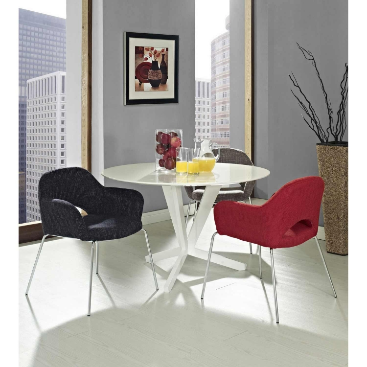 Cordelia Dining Armchair - Red