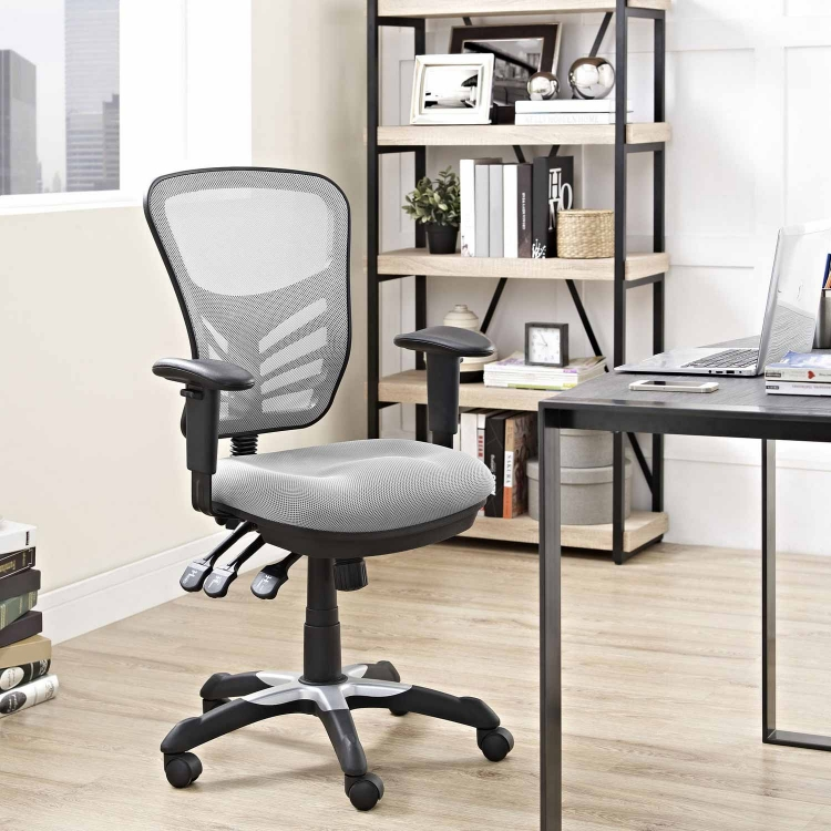 Articulate Mesh Office Chair - Gray