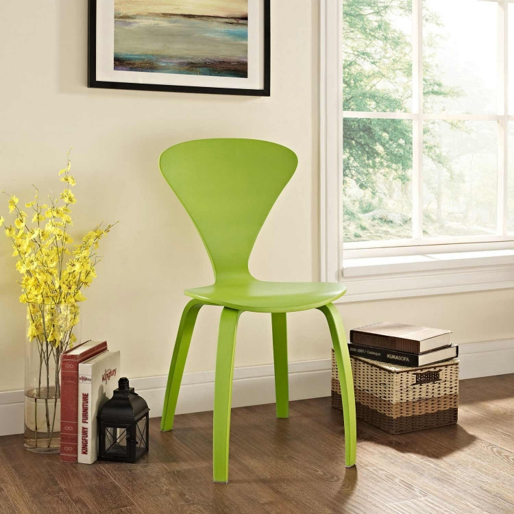 Vortex Dining Side Chair - Green