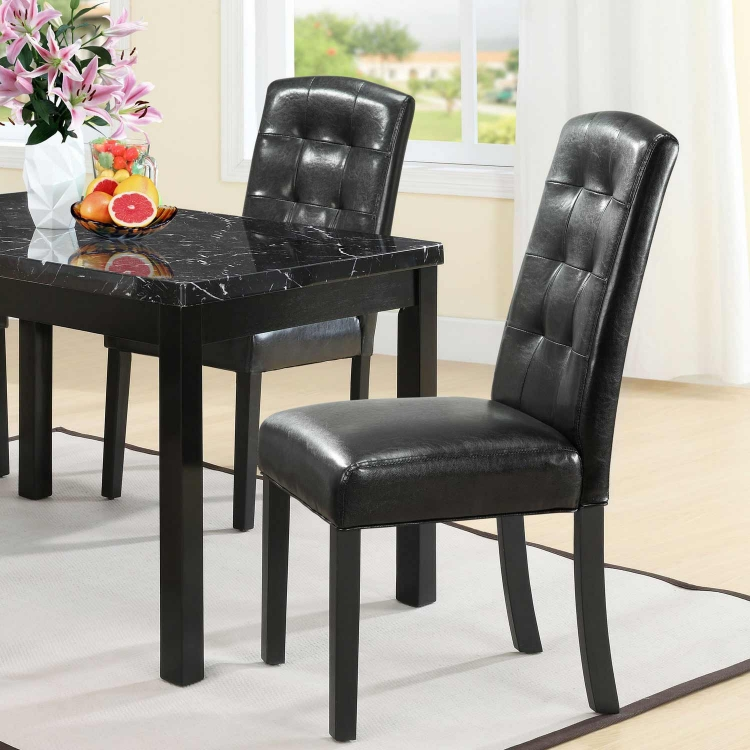 Perdure Dining Side Chair - Black