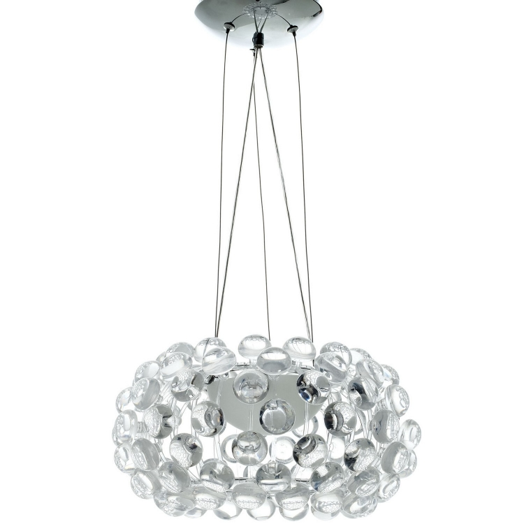 Halo 14 Chandelier - Clear