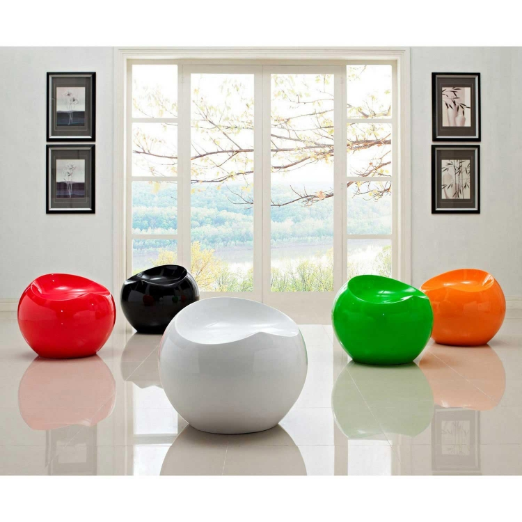 Drop Multicolored Stools Set of 5 - Multicolored
