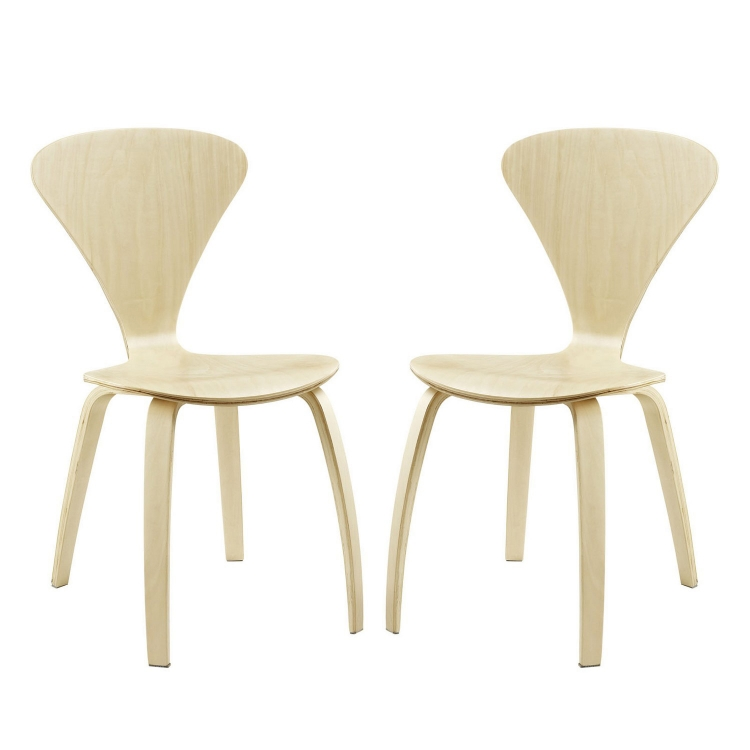 Vortex Dining Chairs Set of 2 - Natural