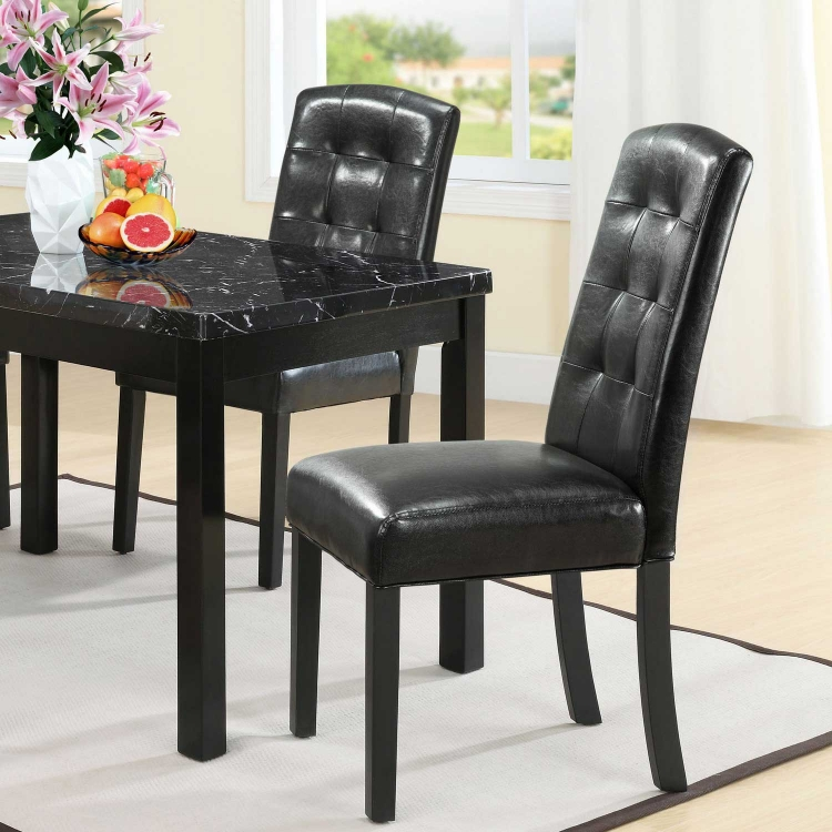 Perdure Dining Chairs Set of 2 - Black