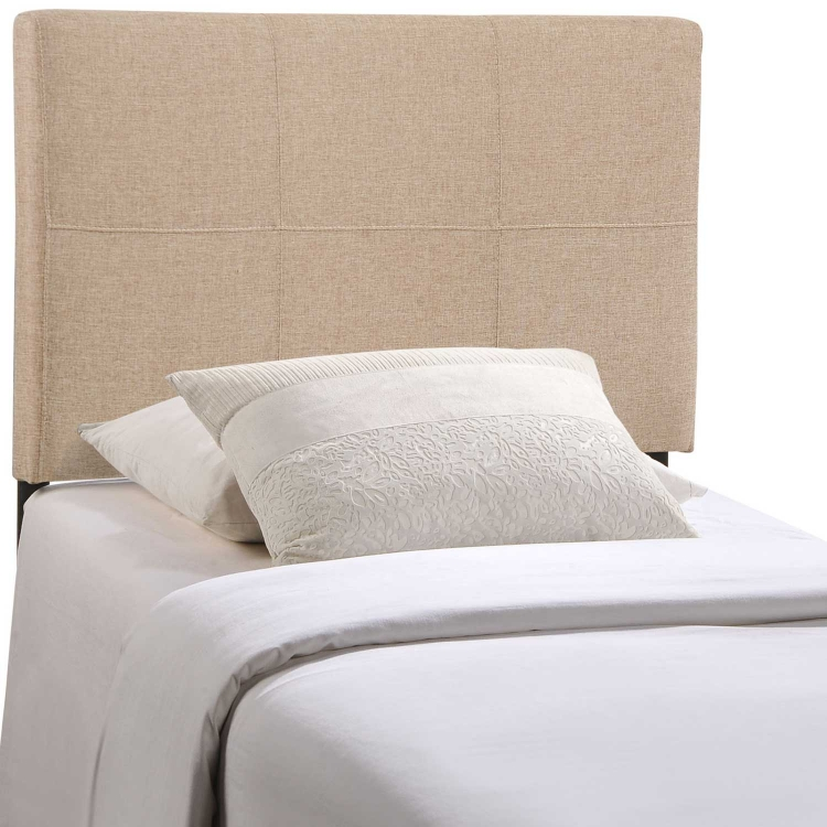 Oliver Fabric Headboard - Beige