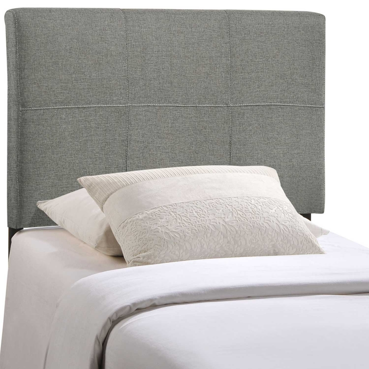 Oliver Fabric Headboard - Gray