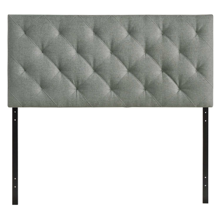 Theodore Fabric Twin Headboard - Gray