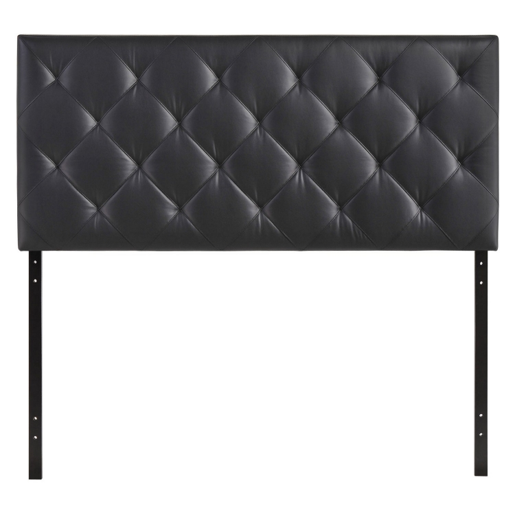 Theodore Twin Vinyl Headboard - Black