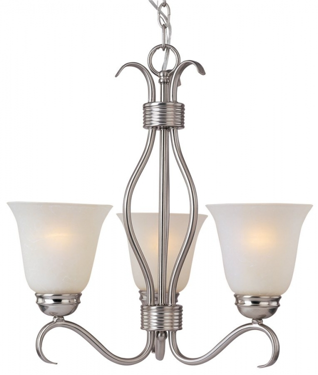 Basix 3 Lt. Chandelier-Maxim Lighting