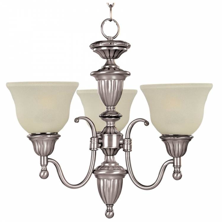Soho 3 Lt Chandelier-Maxim Lighting