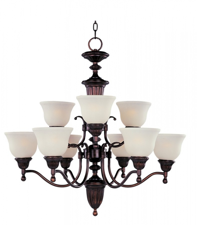 Soho 9 Lt Chandelier-Maxim Lighting