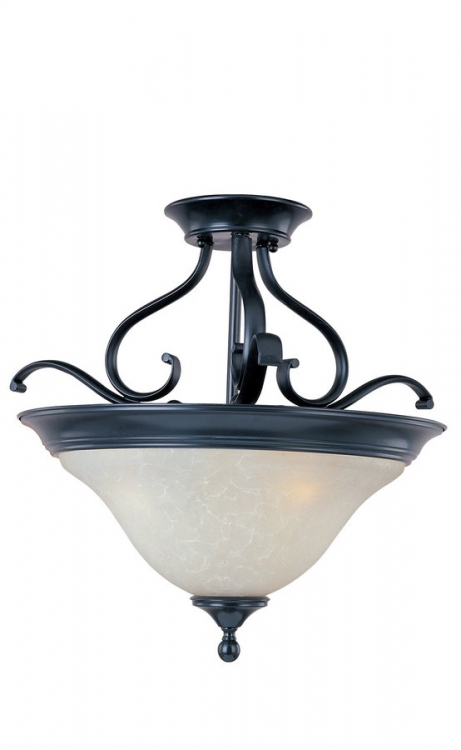 Linda 3 Lt Semi Flush