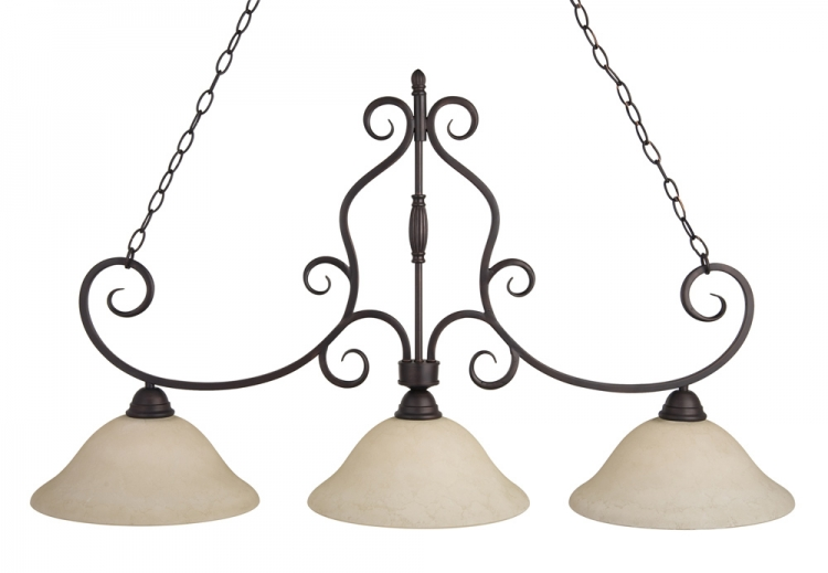 Manor 3 Lt. Island-Maxim Lighting