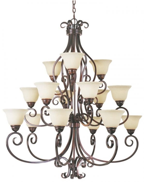 Manor 6 - 6 - 3 Lt. Chandelier-Maxim Lighting