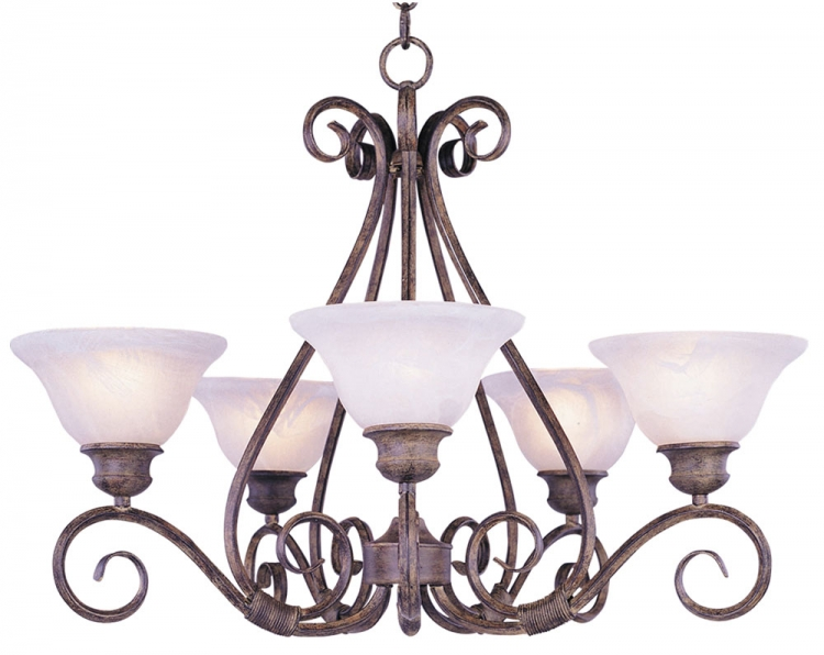 Pacific 5 Lt Chandelier-Maxim Lighting