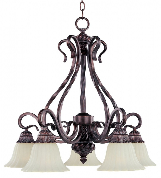 Via Roma 5 Lt Chandelier-Maxim Lighting