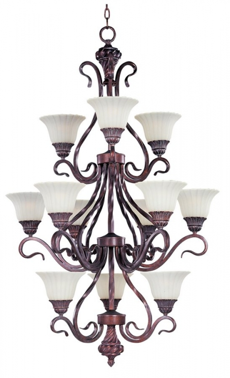 Via Roma 12 Lt Chandelier-Maxim Lighting
