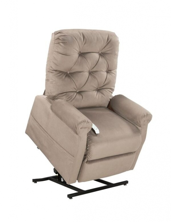 NM200 Classica 3-Position Power Lift Chaise Recliner - Camel