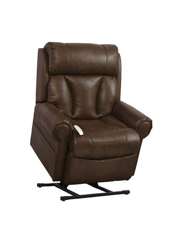 AS9001 Joey 3-Position Power Lift Chaise Recliner - Tobacco