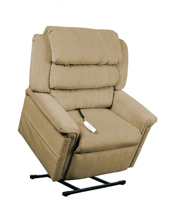 AS1450 Perfecta 3-Position Power Lift Chaise Recliner - Camel