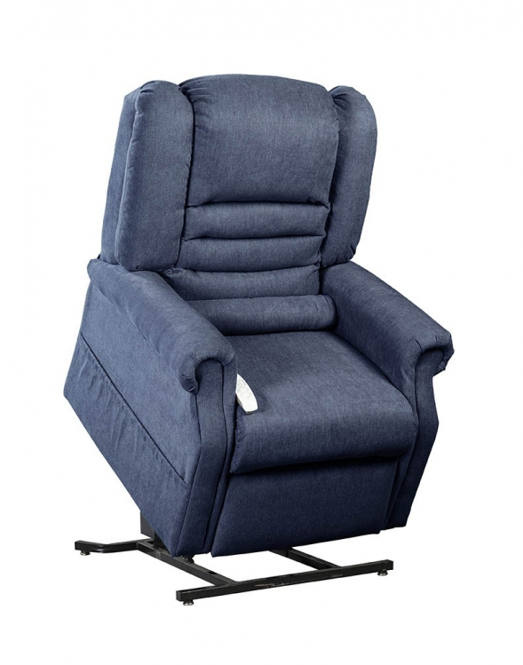 NM1850 Serene Infinite Position Power Lift Chaise Recliner - Navy