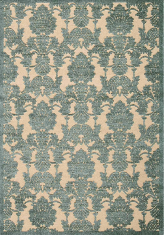Graphic Illusions GIL03 Teal Area Rug