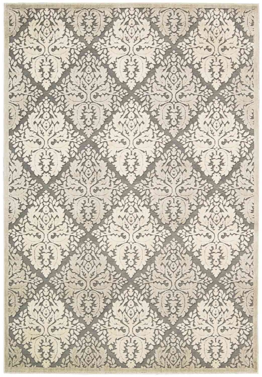 Graphic Illusions GIL08 Ivory Area Rug