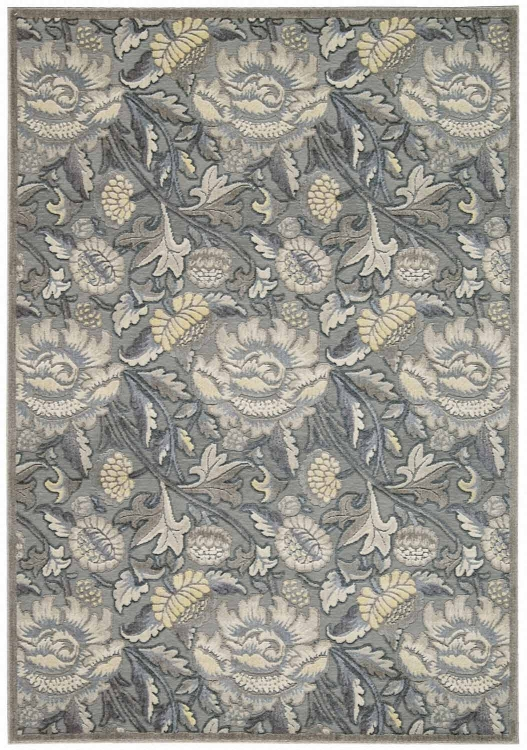 Graphic Illusions GIL10 Grey Area Rug