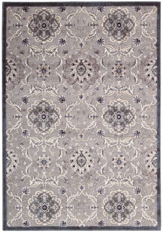 Graphic Illusions GIL12 Grey Area Rug