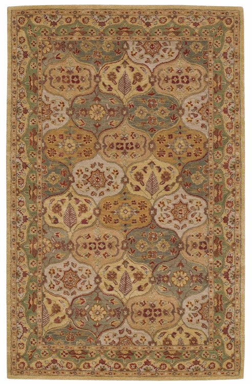 India House IH03 Multi Color Area Rug