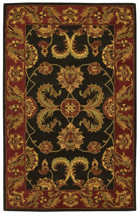 India House IH04 Black Area Rug