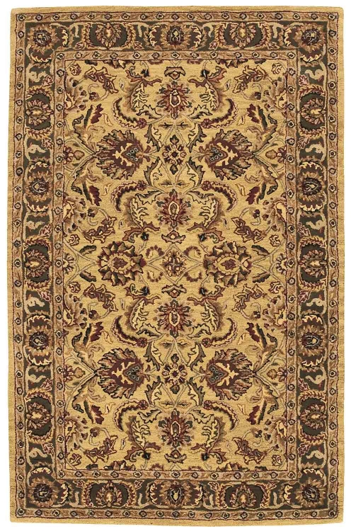 India House IH17 Gold Area Rug