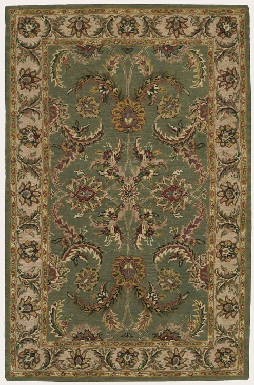 India House IH18 Green Area Rug