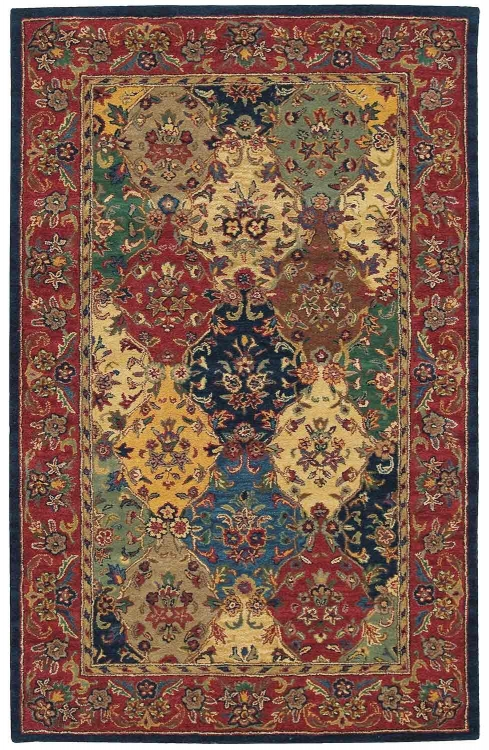 India House IH23 Multi Color Area Rug