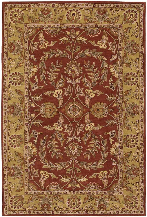 India House IH58 Rust Area Rug