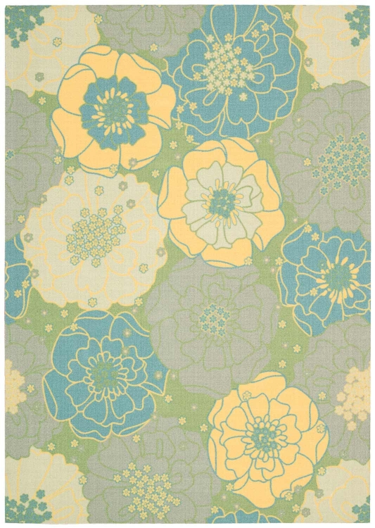 Home and Garden RS021 Green Area Rug