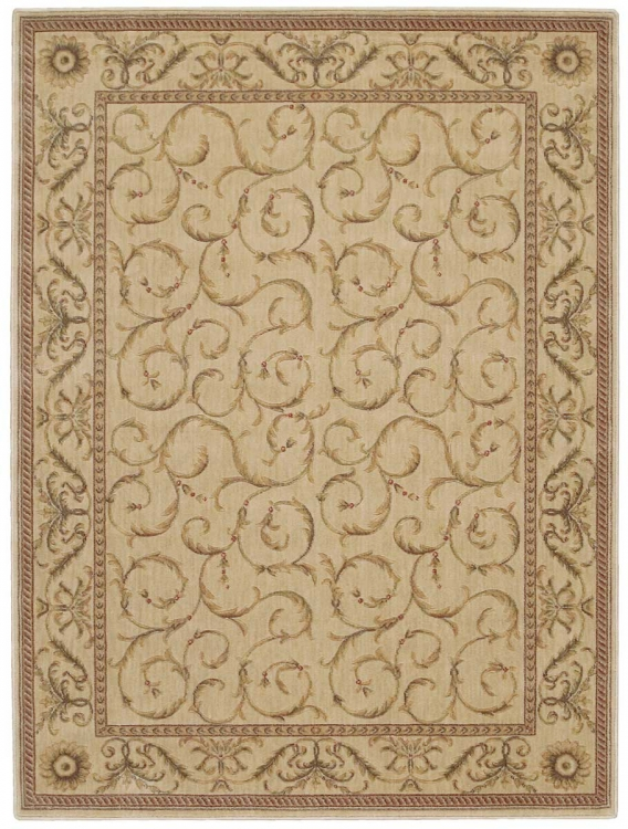 Somerset ST02 Ivory Area Rug