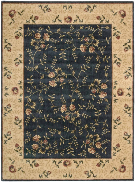 Somerset ST05 Navy Area Rug