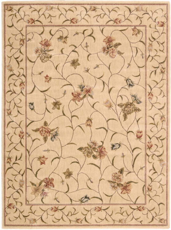 Somerset ST09 Ivory Area Rug